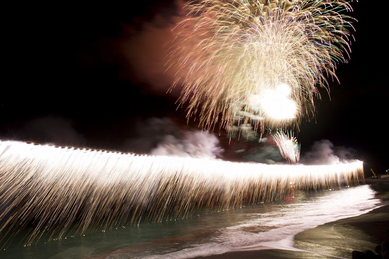 【7月22日】第54回熱川海上花火大会